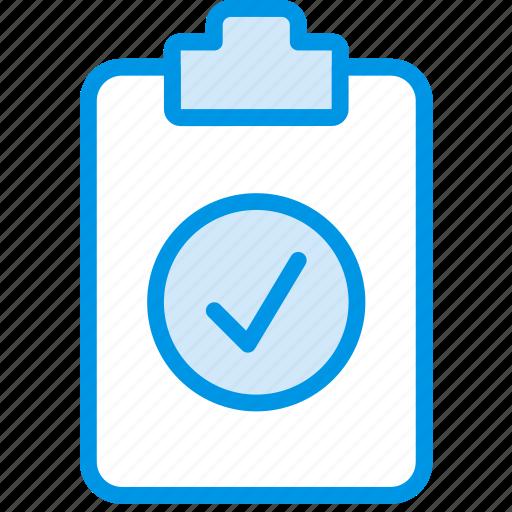 document, file, note, paper, success, write icon