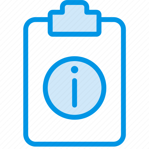 document, file, info, note, paper, write icon