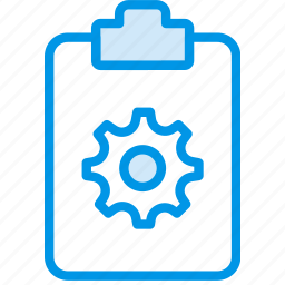 document, file, note, paper, settings, write icon