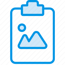 document, file, image, note, paper, write icon