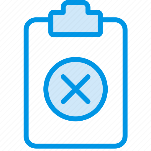 delete, document, file, note, paper, write icon
