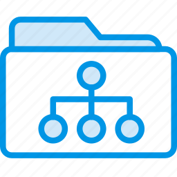 document, folder, note, paper, share, write icon