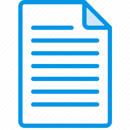 Document, file, note, paper, write icon - Download on Iconfinder