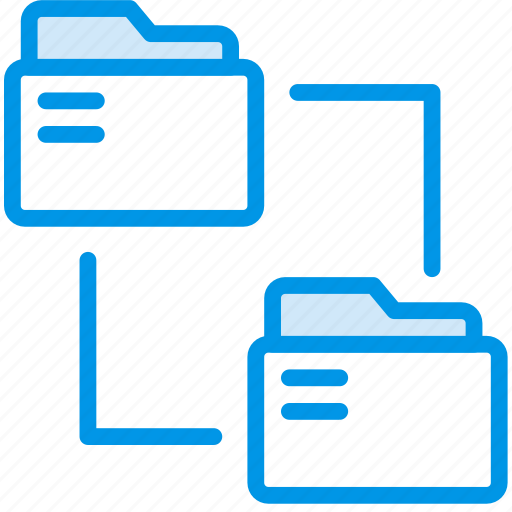 connect, document, folders, note, paper, write icon
