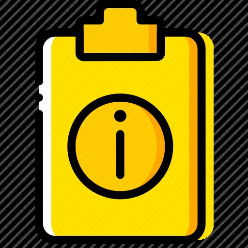doc, document, file, info, paper, write icon