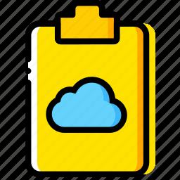add, cloud, doc, document, file, paper, write icon