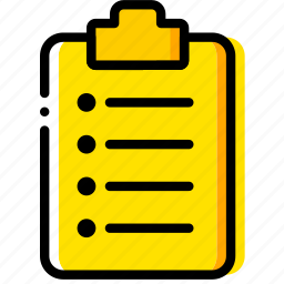 doc, document, file, ordered, paper, write icon