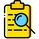 doc, document, file, paper, search, write icon