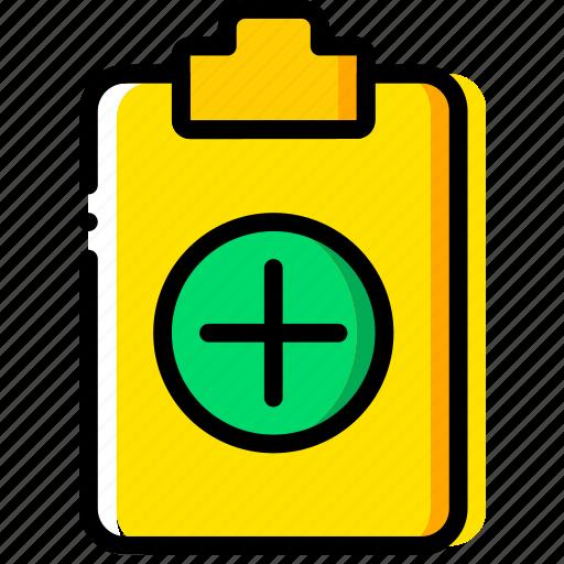 add, doc, document, file, paper, write icon