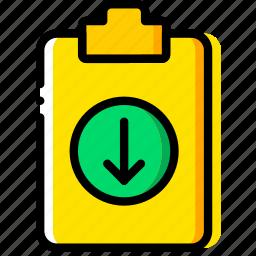 doc, document, download, file, paper, write icon