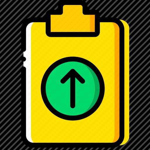 doc, document, file, paper, upload, write icon