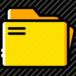 doc, document, folders, paper, write icon