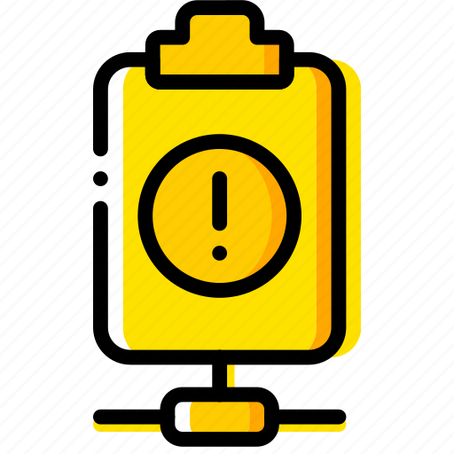 connect, doc, document, file, paper, warning, write icon