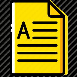 doc, document, docx, file, paper, write icon