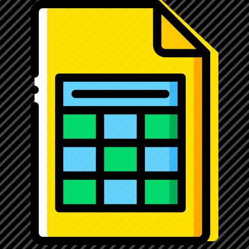 doc, document, file, paper, write, xslx icon