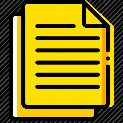 doc, document, files, paper, write icon