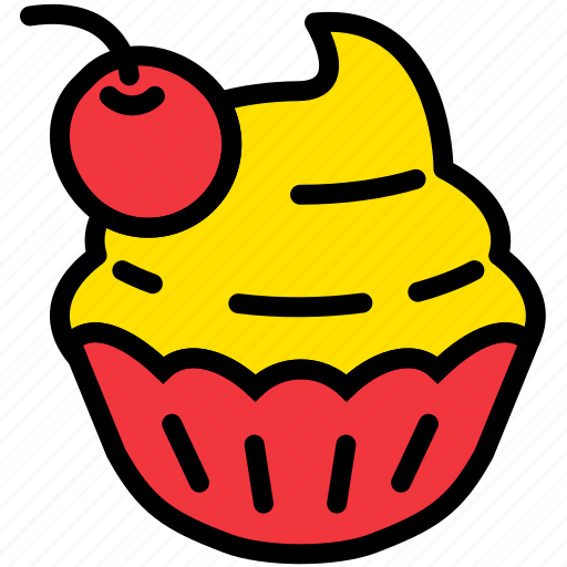 cooking, cupcake, food, gastronomy icon