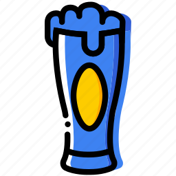 beer, cooking, food, gastronomy, glass icon