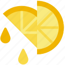 cooking, food, gastronomy, juice, lemon icon