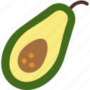 avocado, cooking, food, gastronomy icon
