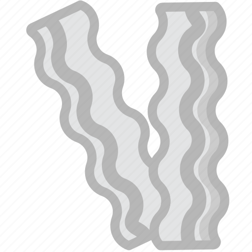 bacon, cooking, food, gastronomy icon