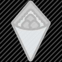 cooking, food, gastronomy, teriyaki, wrap icon