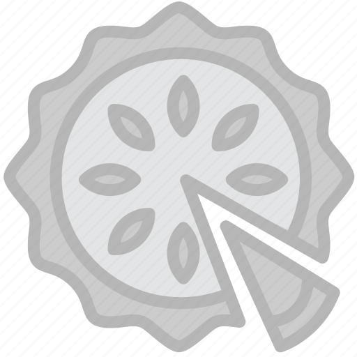 cooking, food, gastronomy, pie icon