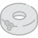 cooking, doughnut, filled, food, gastronomy icon