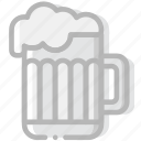 beer, cooking, food, gastronomy, pint icon