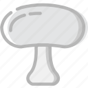 cooking, food, gastronomy, mushroom icon