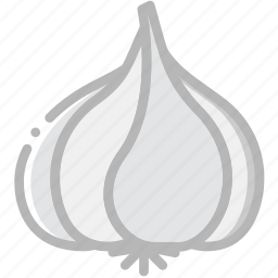 cooking, food, garlic, gastronomy icon