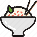 asian, cooking, food, gastronomy, rice icon