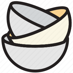 cooking, dishes, food, gastronomy, piled icon
