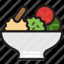 cooking, food, gastronomy, japanesse, salad