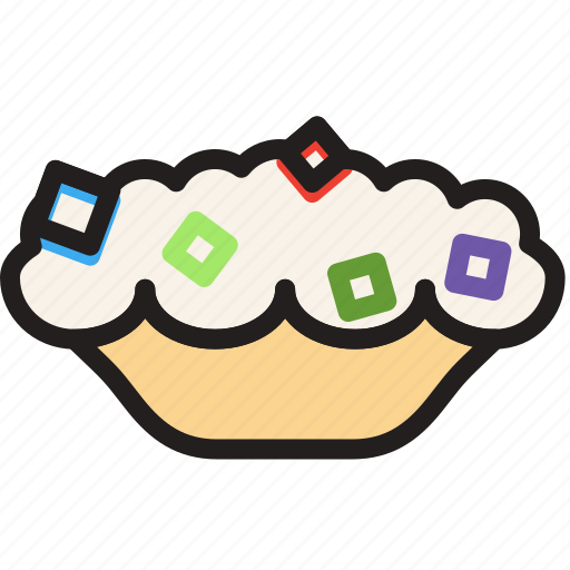 cooking, food, frosted, gastronomy, pie icon