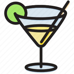 cooking, food, gastronomy, glass, martini icon