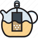 cooking, food, gastronomy, infuser, tea icon