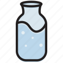 bottle, cooking, food, gastronomy, water icon