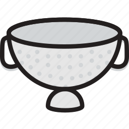 cooking, food, gastronomy, sieve, stariner icon