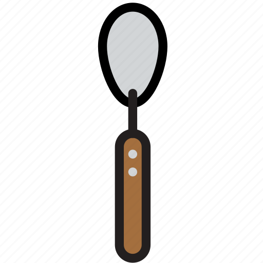 cooking, food, gastronomy, teaspoon icon