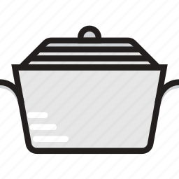 cooking, food, gastronomy, pot, stew icon