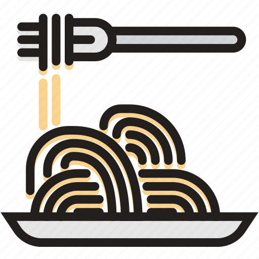 cooking, food, gastronomy, spaghetti icon