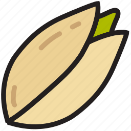 cooking, food, gastronomy, pistachio icon