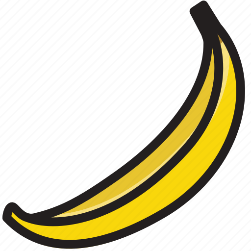 banana, cooking, food, gastronomy icon