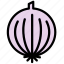 cooking, food, gastronomy, onion icon