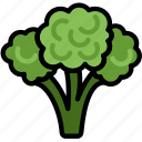 broccoli, cooking, food, gastronomy icon
