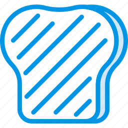 cooking, food, gastronomy, toast icon