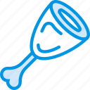 chunk, cooking, food, gastronomy, meat icon