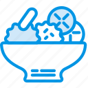 cooking, food, gastronomy, japanese, salad icon