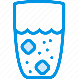 cooking, food, gastronomy, glass, of, water icon